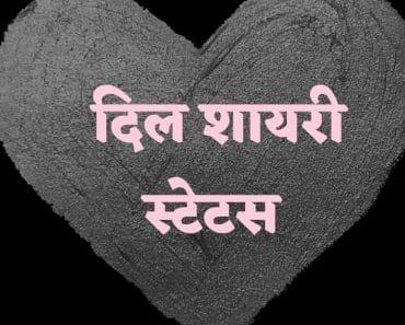 Dil Status in Hindi