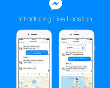 Facebook Messenger Live Location Feature