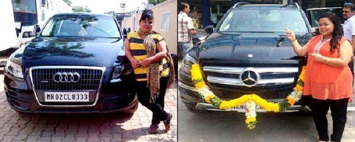 भारती सिंह की कारें
