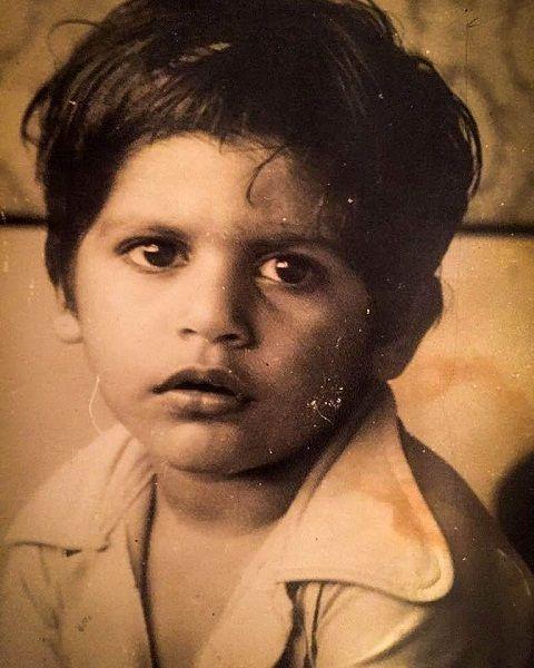 करणवीर बोहरा की बचपन की तस्वीर