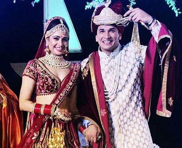 प्रिंस नरुला ने युविका से शादी की