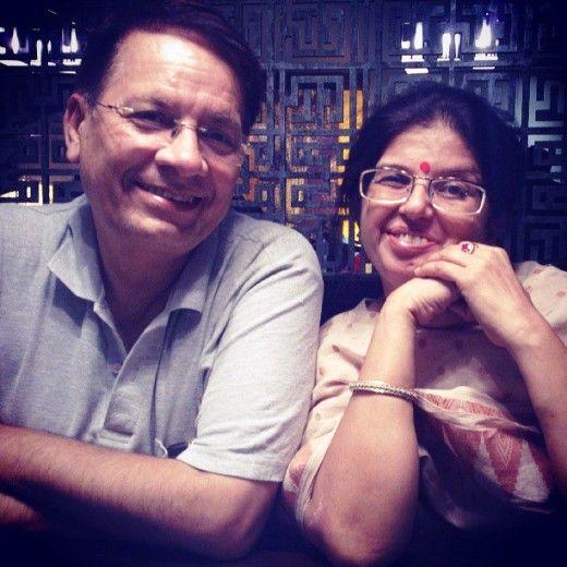 सान्या मल्होत्रा के माता-पिता