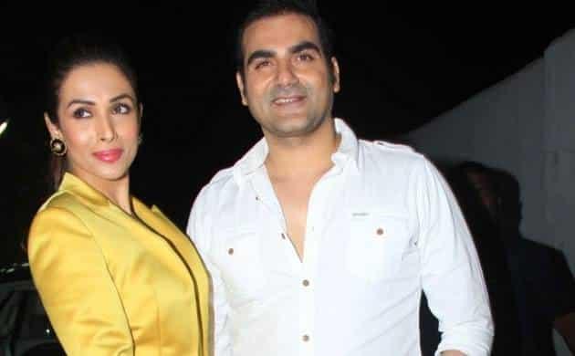 मलाइका अरोड़ा अपने पूर्व पति, अरबाज खान के साथ