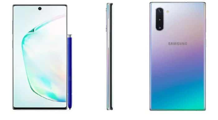 सैमसंग गैलेक्सी नोट 10, Samsung Galaxy Note 10, Galaxy Note 10+