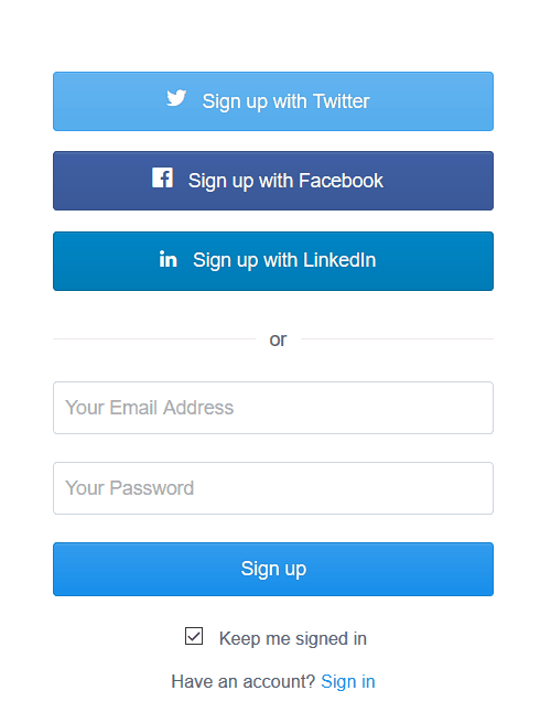 What is social login in hindi