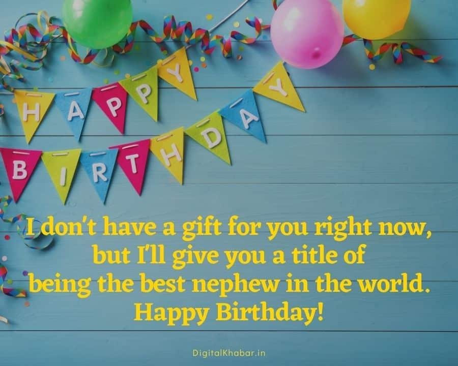 Bhatije ke lie Birthday Wishes