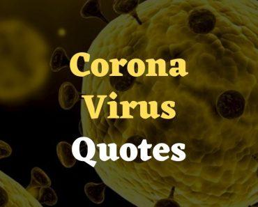 coronavirus Awareness Quotes
