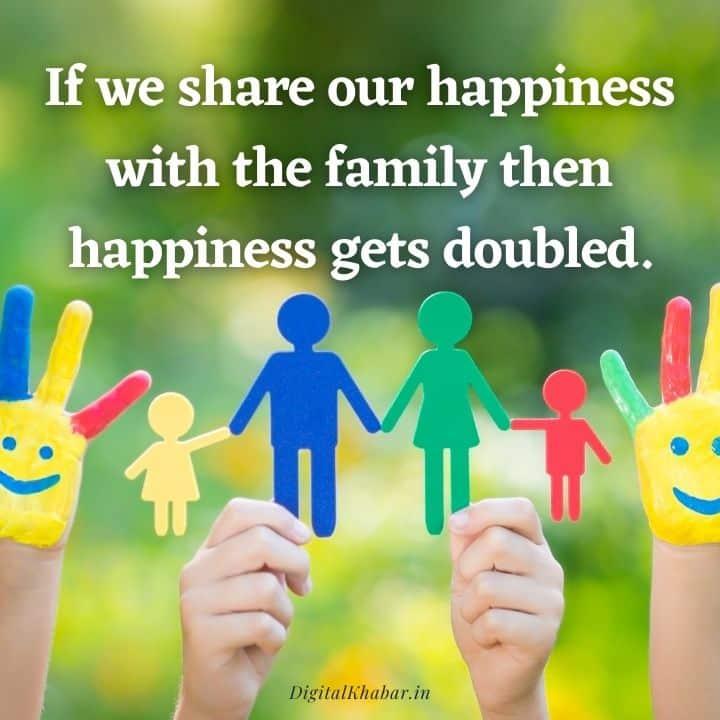 Family status in Hindi on love