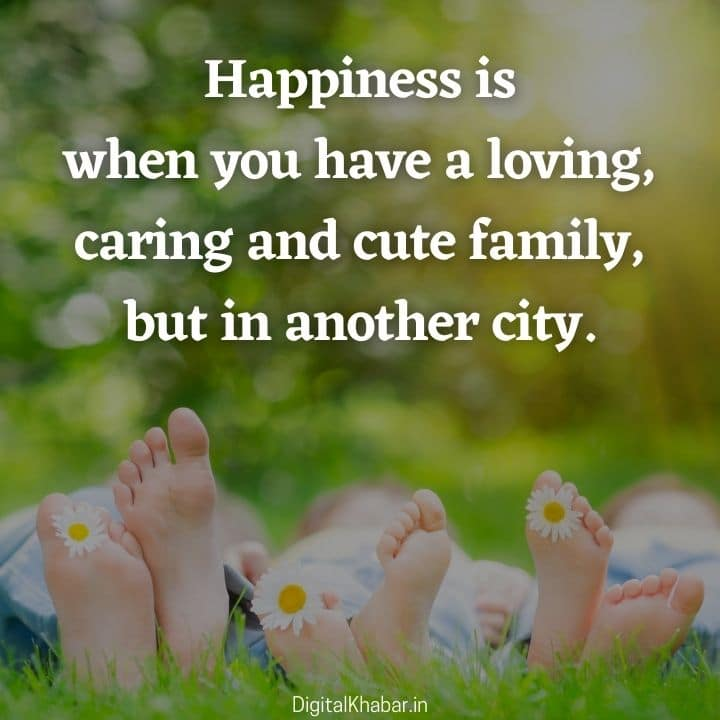 Status for caring and cute family