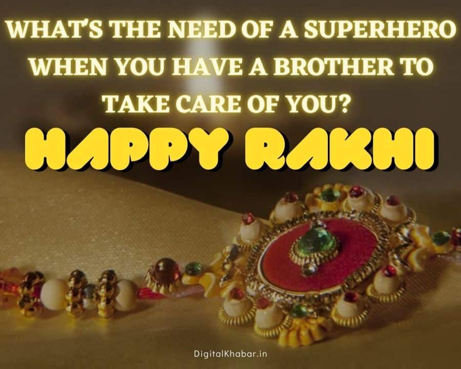 Happy Rakhi Wishes