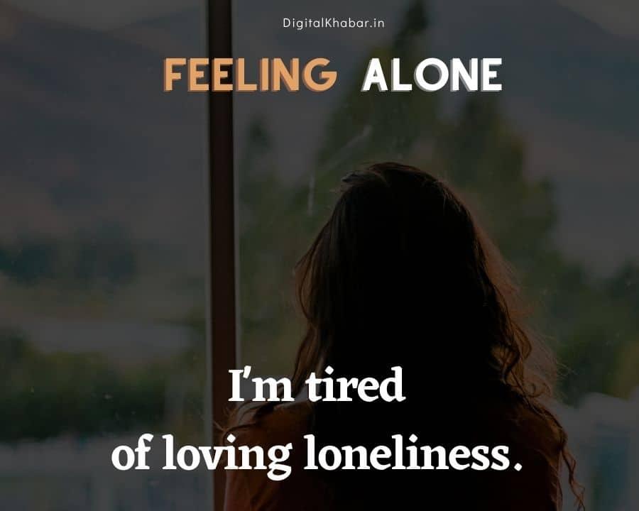 Whatsapp Status on Loneliness