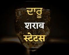 दोस्ती दारु स्टेटस हिंदी में